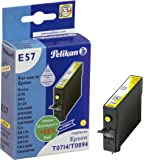 Pelikan Inkjet Cartridge compatible E57 Epson T0714, yellow, 9 ml, 56 g