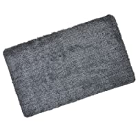 Micro-Pro Absorbent Barrier Floor Door Mat Non-Slip Rubber Backing Dark Grey 70x45cm