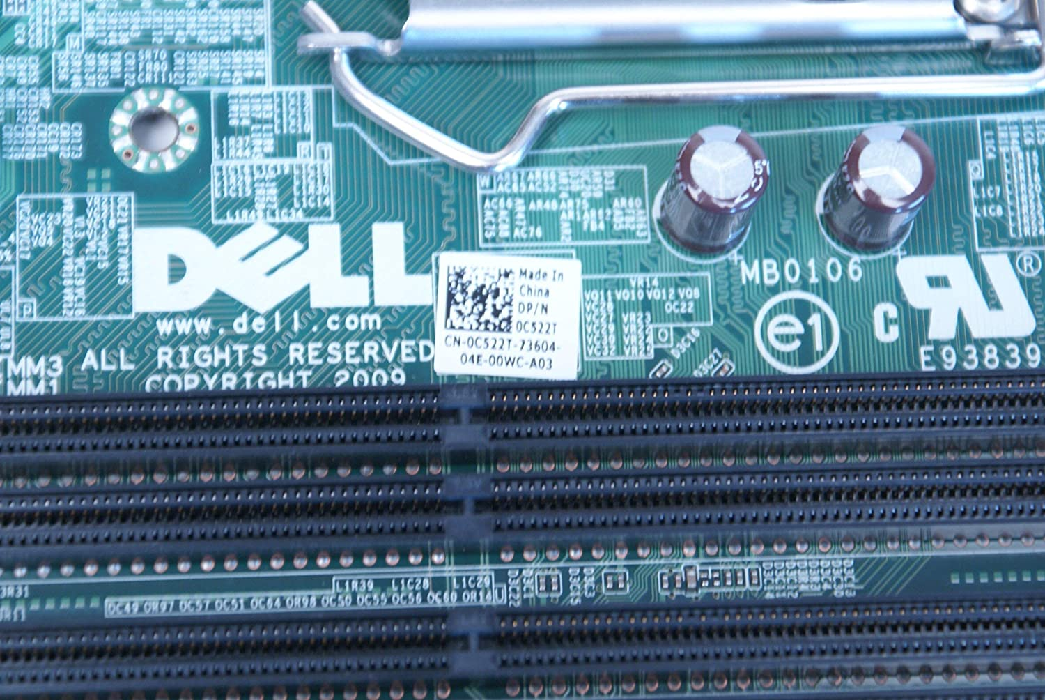 SFF Renewed Compatible Part Number: C522T Genuine Dell Optiplex 980 Small Form Factor System Motherboard Mainboard Systemboard