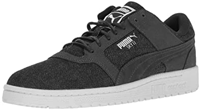 PUMA Men's Sky II Lo Denim Fashion Sneaker, Twilight Blue, ...