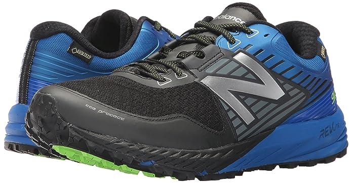 c9f58113555bb New Balance MT 910 D BX4 Black Blue: Amazon.fr: Chaussures et Sacs