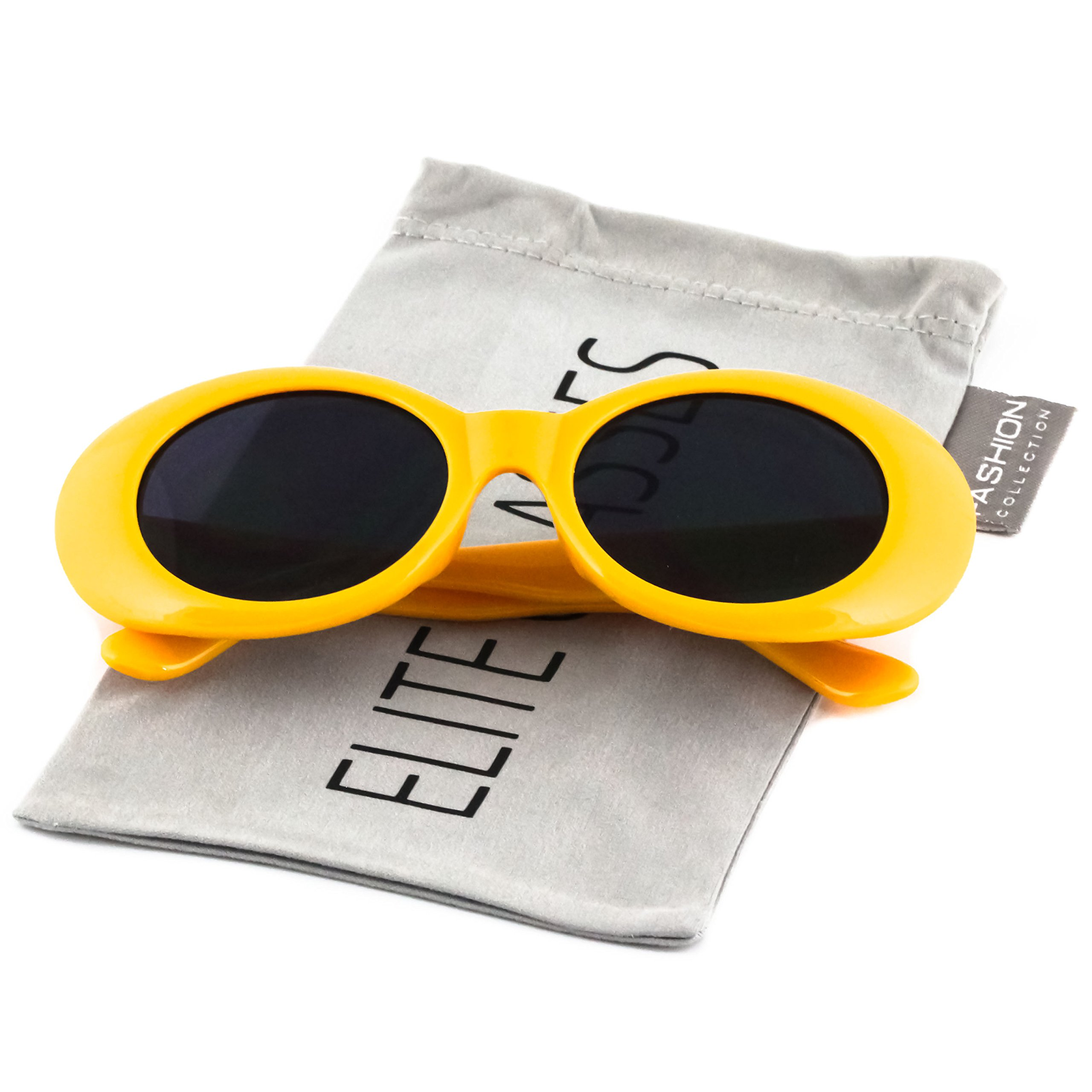 1a5a468876 Galleon - Clout Goggles Oval Hypebeast Eyewear Supreme Glasses Cool  Sunglasses
