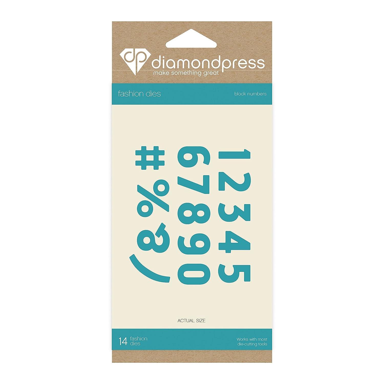 Block Alphabet Lower DP1250 Diamond Press Die Set