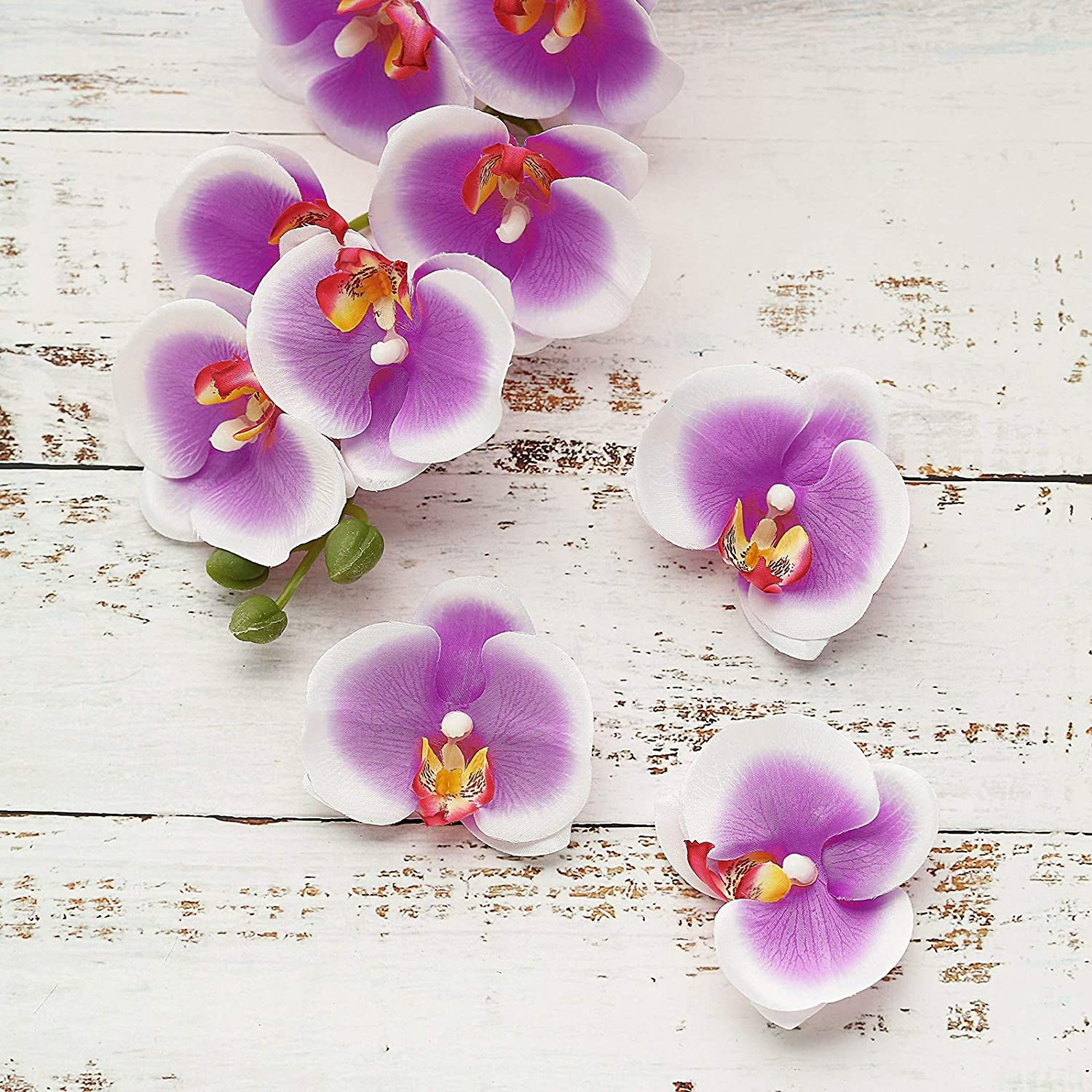 Butterfly Headsflower Artificial Flower Orchid Home Decor Festival Long Lasting