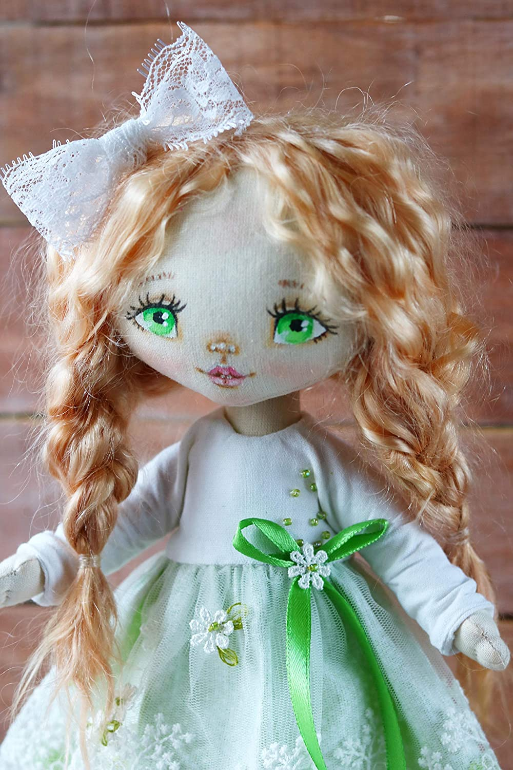 Cloth Handmade Doll Ragdoll Interior doll