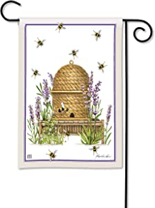 BreezeArt Studio M Beehive Decorative Garden Flag – Premium Quality, 12.5 x 18 Inches