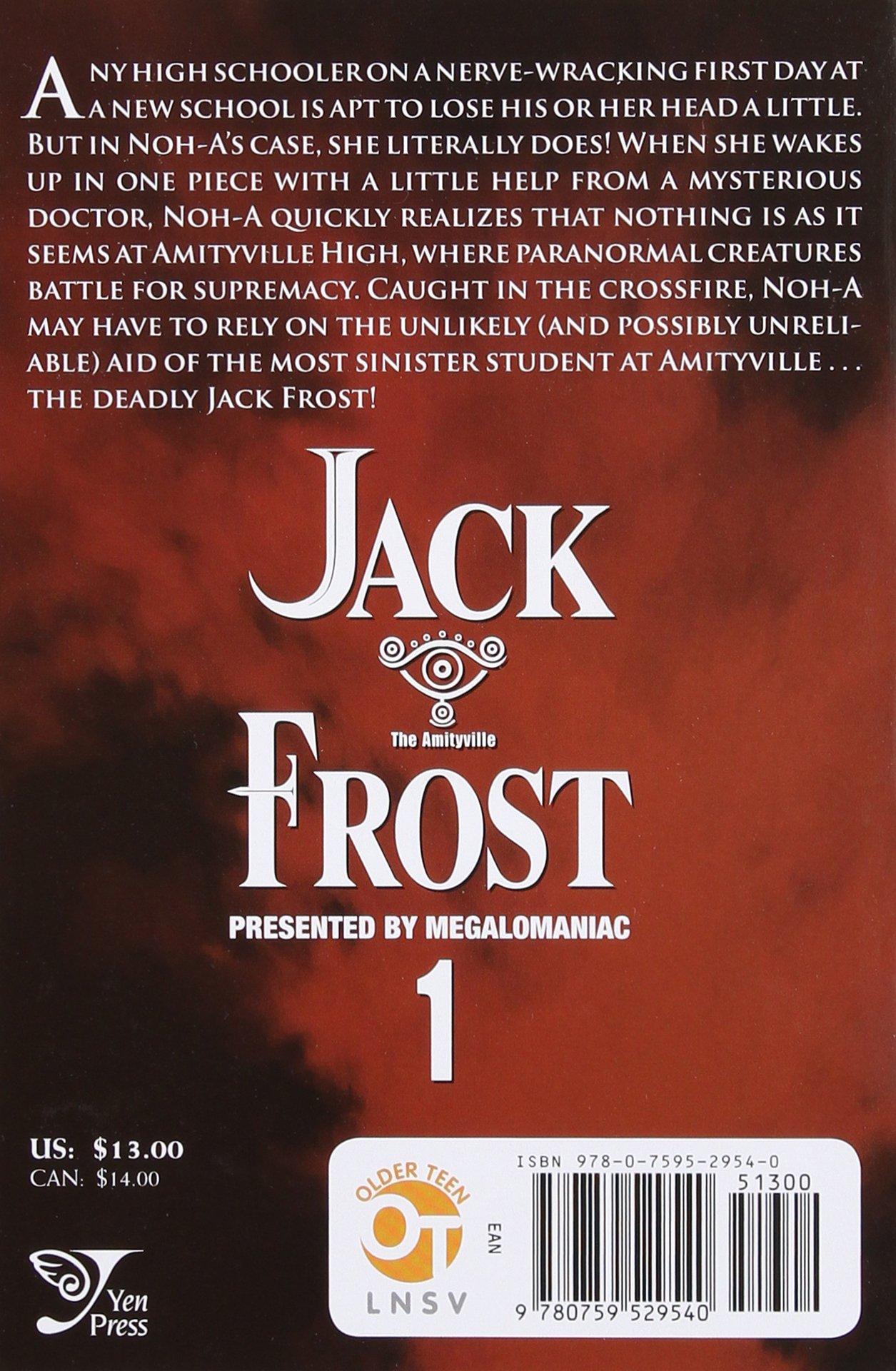 Jack Frost Vol 1 v 1 JinHo Ko Amazon Books