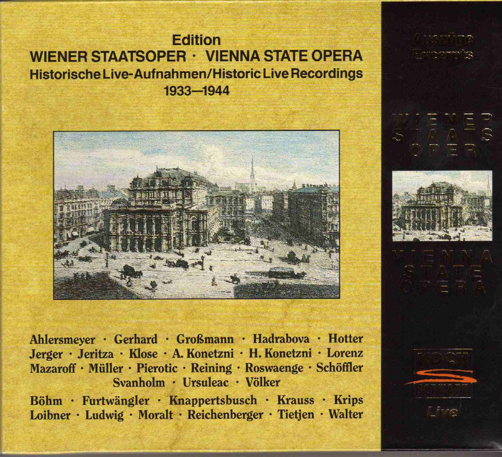 Historic Live Recordings 1933-1944