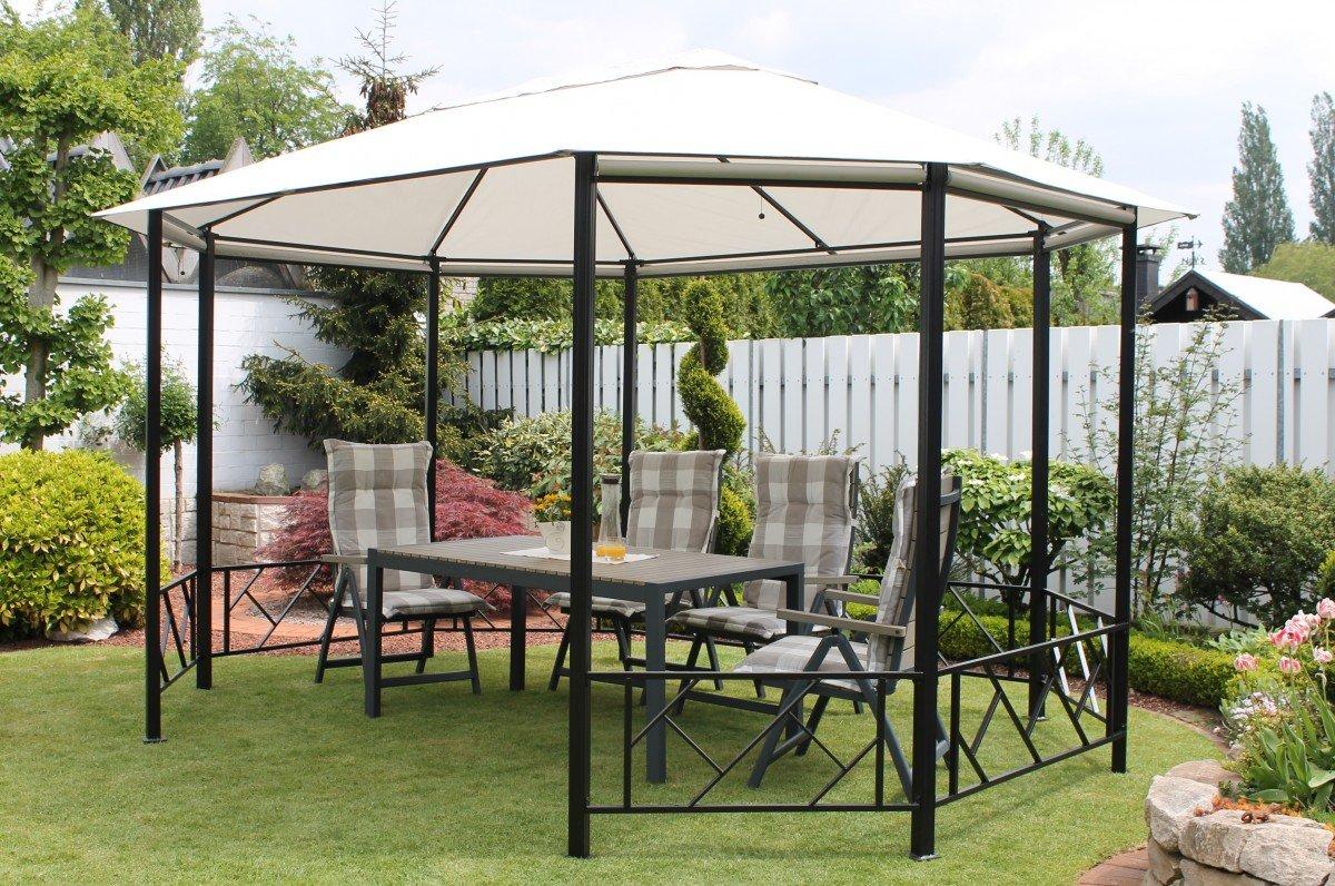 dreams4home pavillon 39 capua vi 39 terrassen berdachung. Black Bedroom Furniture Sets. Home Design Ideas