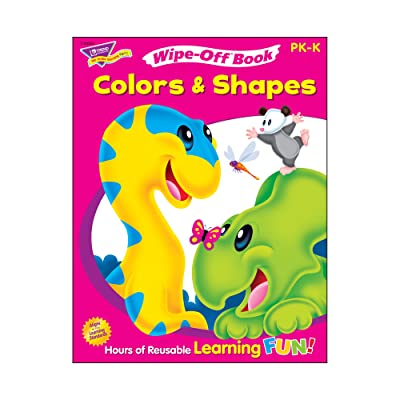 Trend Enterprises Inc. Colors & Shapes Wipe-Off Book, 28 pgs: Toys & Games
