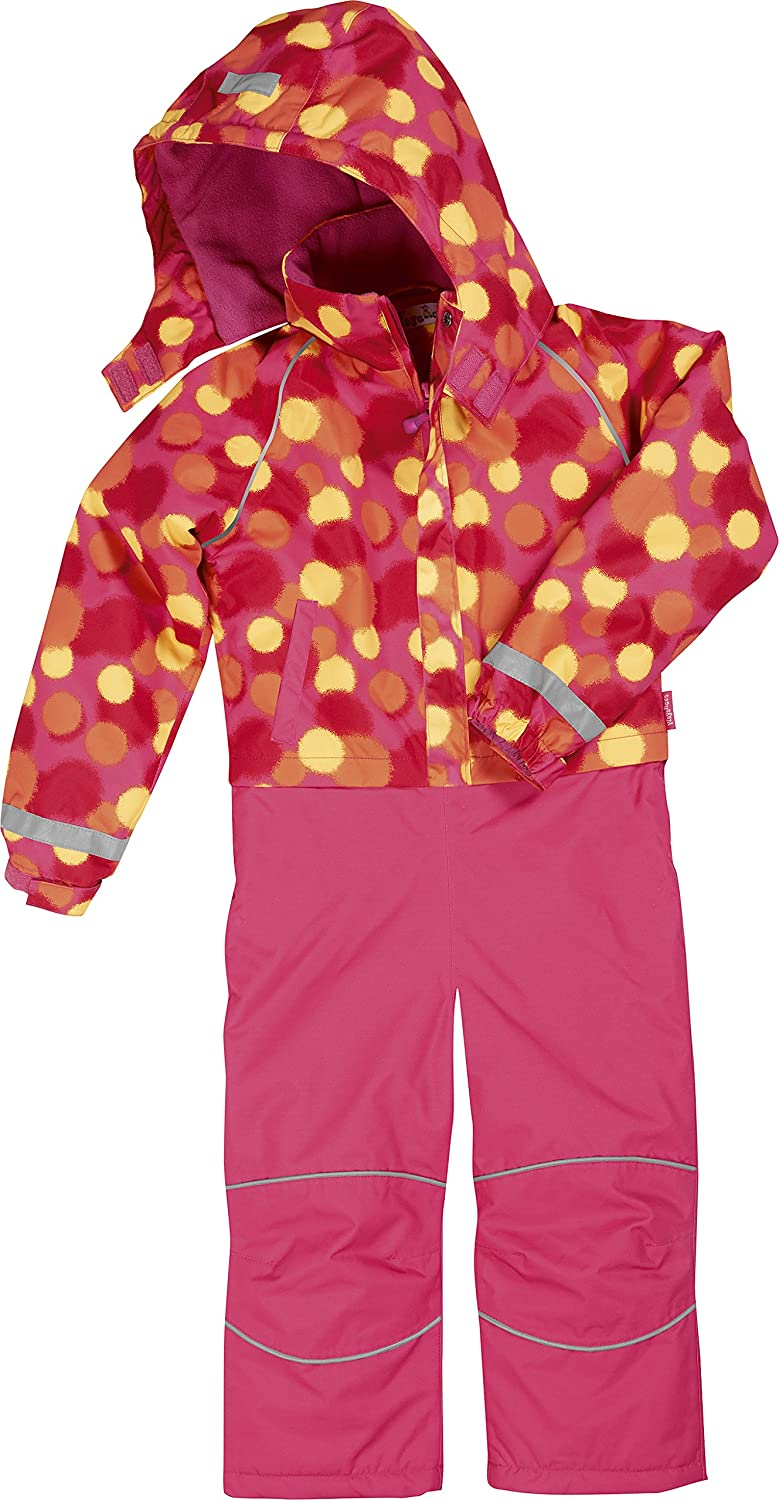 Playshoes Girl's Waterproof and Breathable Overall 431131