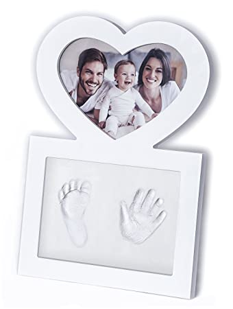 Click & Clay - Baby Hand and Footprint Kit, Baby Shower Gift Idea ...