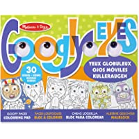 Melissa & Doug – Wacky Faces – Googly Eyes Coloring Pad Juguete