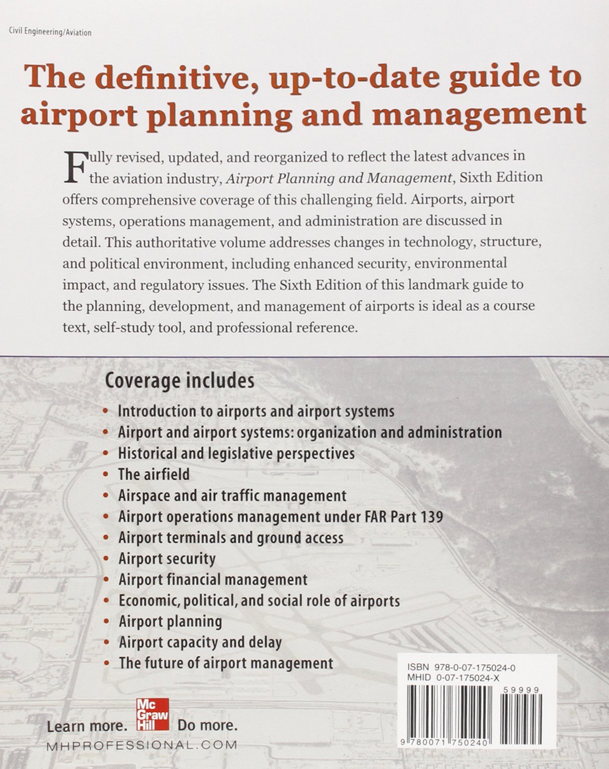 Airport Planning And Management 6/E: Amazon.co.uk: Seth Young, Alexander  Wells: Books