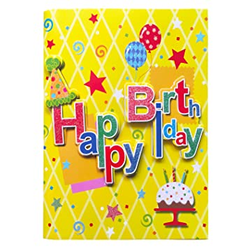 Musical Birthday Card Greeting Cards With Interactive Sound Awesome Happy