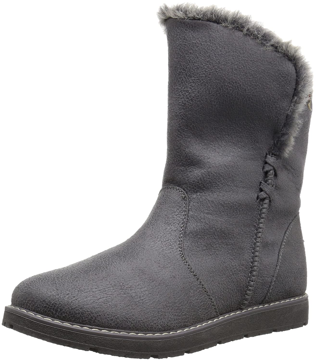 Skechers BOBS from Women's Bobs Alpine Puddle Jump Cozy Winter Boot B01ABY2XN6 5 B(M) US|Charcoal