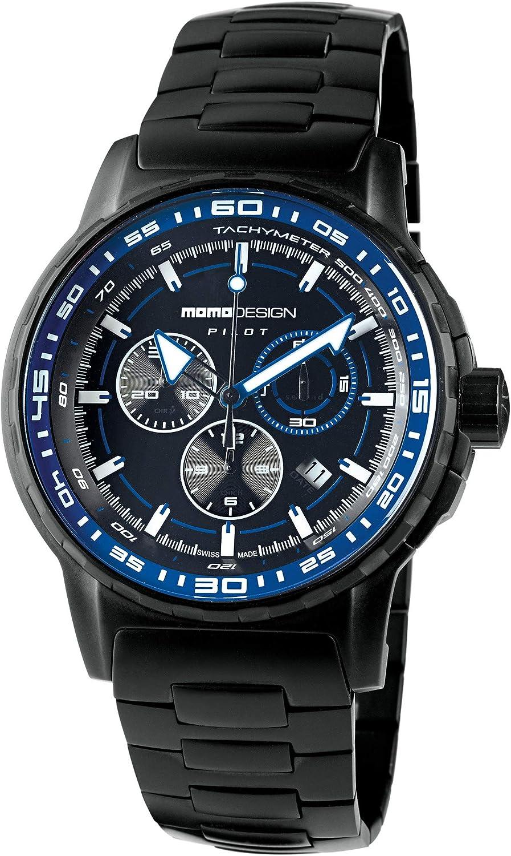 MOMO Design Reloj Informal MD2164BK-20