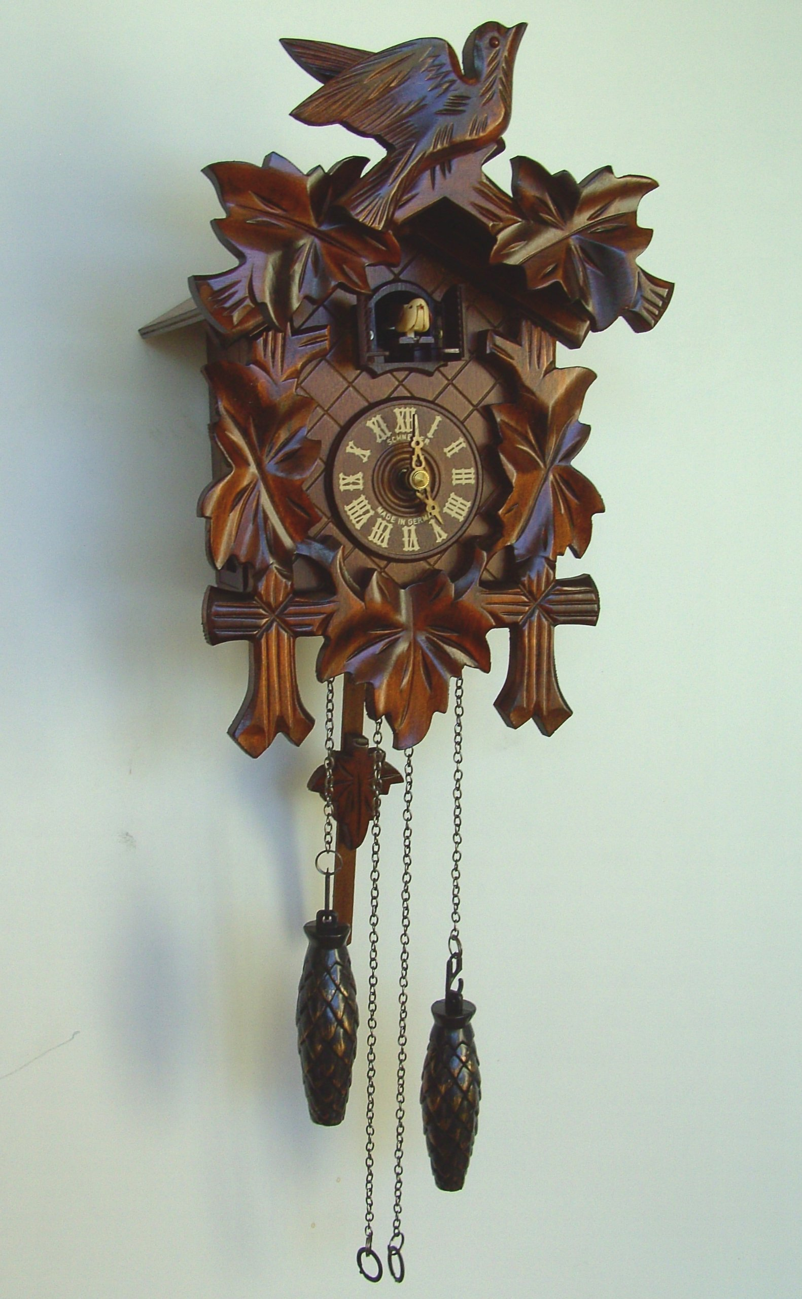 Quartz Black Forest Cuckoo Clocks by Schneider Cuckoo Clocks