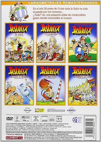 Pack: Asterix [DVD]: Amazon.es: Dibujos Animados, Ray Goossens, Pierre Watrin, Philippe Grimond, Gaetan Brizzi, Dibujos Animados: Cine y Series TV