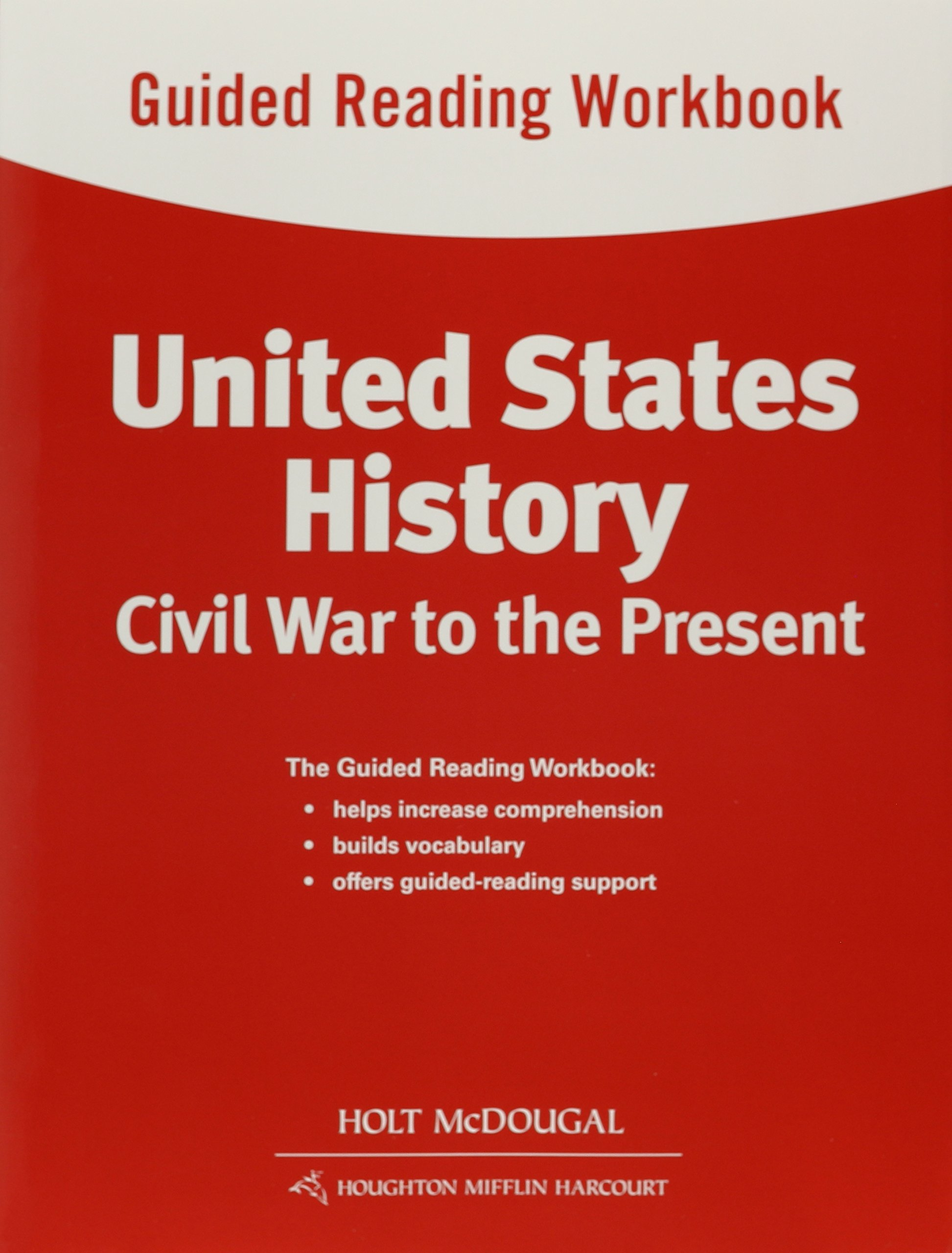 Download United States History: Guided Reading Workbook Civil War to the Present pdf