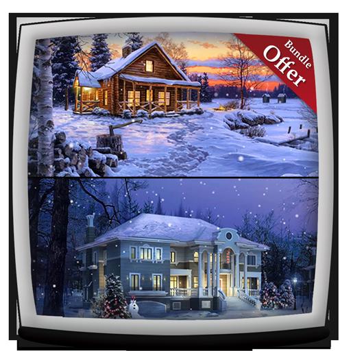 Virtual Snowfall HD - Wallpaper & Themes