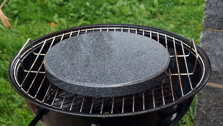 Grillstein Für Gasgrill : Runder grillstein aus granit für den kugelgrill 28cm durchmesser