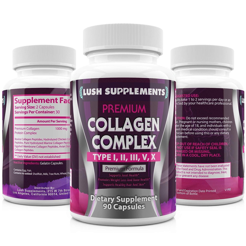 Amazon.com: Fast Acting Multi Collagen Complex Peptides ...