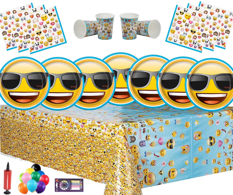 Emoji de Fiesta la Fiesta de cumpleaños de los niños Vajilla ...