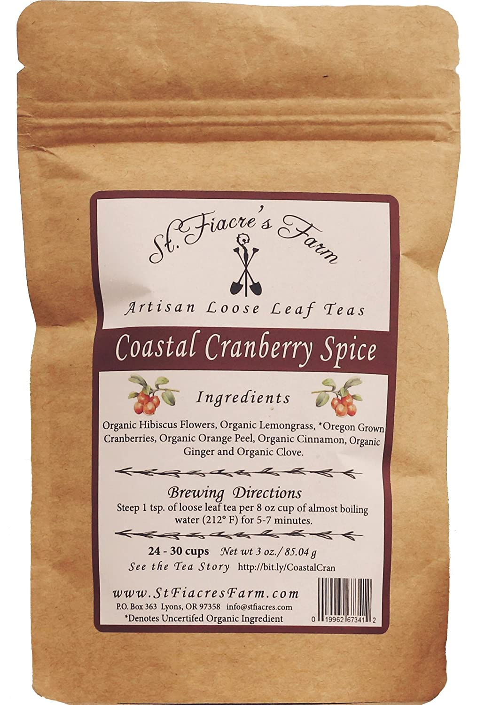 Amazon com : Coastal Cranberry Spice Loose Leaf Tea