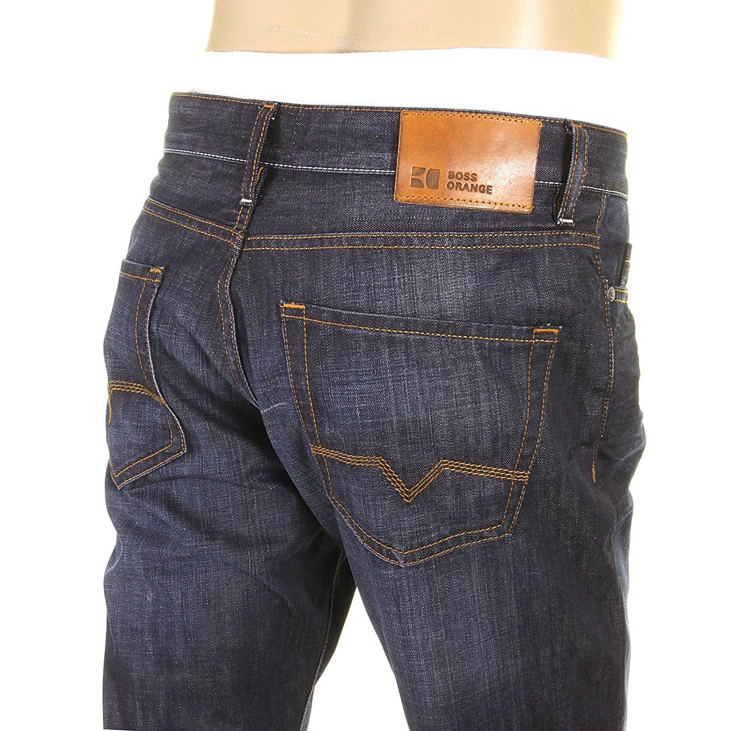 7a7a59e990 Boss Orange jeans Orange25 moonlight washed indigo 50177587 402 Hugo Boss  denim jean BOSS2614: Amazon.ca: Clothing & Accessories