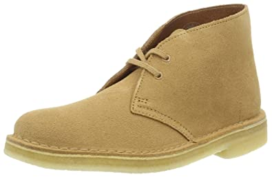 Clarks Originals Damen 261227394 Desert Boots, Beige (Fudge), 41 EU