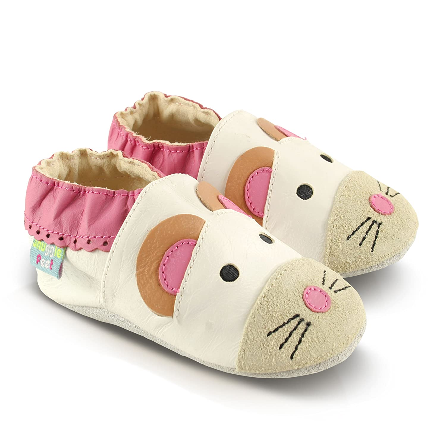 Snuggle Feet Soft Leather Baby Shoes 6-12 months, Bunny 6-12 months Toddler Shoes 2-3 years 18-24 months 0-6 months 12-18 months