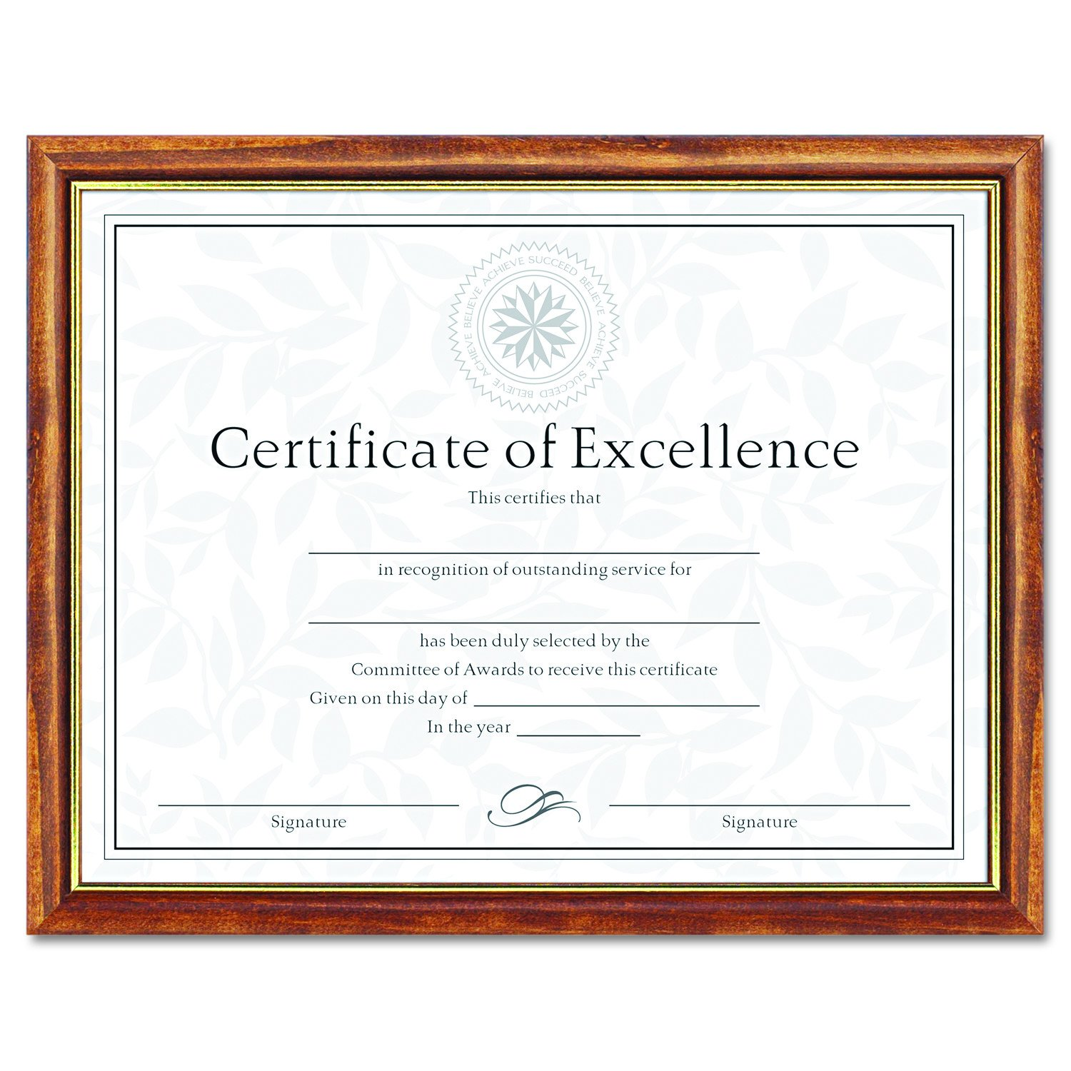 Amazon dax two tone documentdiploma frame wood 85 x 11 amazon dax two tone documentdiploma frame wood 85 x 11 inches black with gold leaf trim n17981bt office products xflitez Choice Image