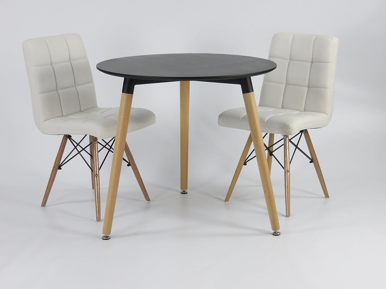 emejing k chentisch rund 80 cm images kosherelsalvador. Black Bedroom Furniture Sets. Home Design Ideas