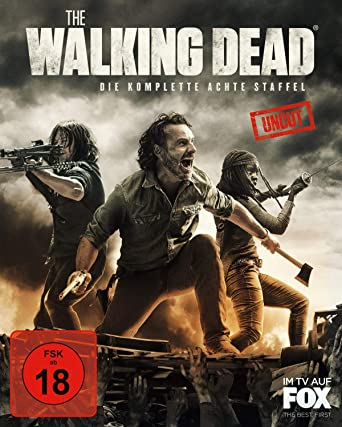 The Walking Dead - Die komplette achte Staffel Blu-ray ...