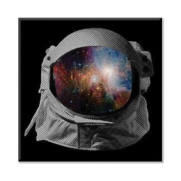 Lienzo marco Canvas Casco astronauta espacio universo lavabo ...