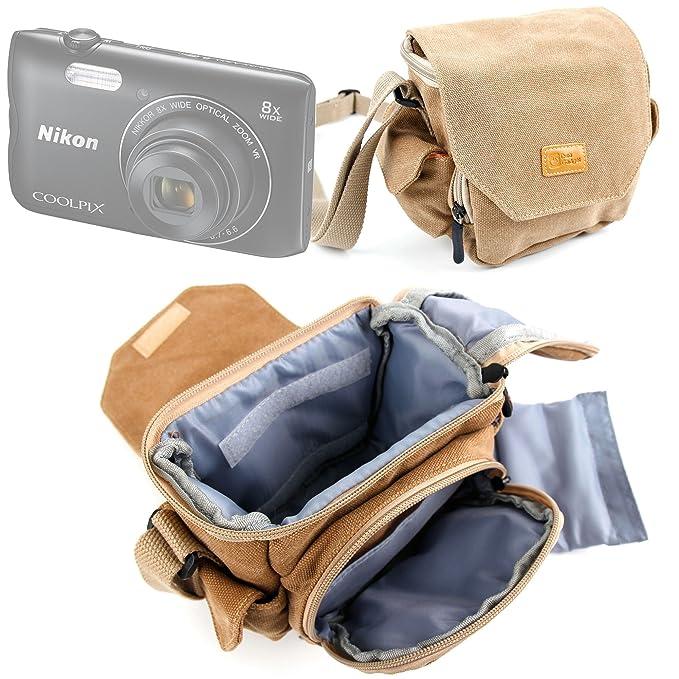 087d7e69e77c Amazon.com : DURAGADGET Light Brown Medium Sized Canvas Carry Bag ...