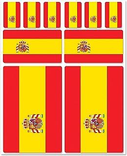 Tabla de pegatinas, diseño de la bandera de España? Z124: Amazon ...