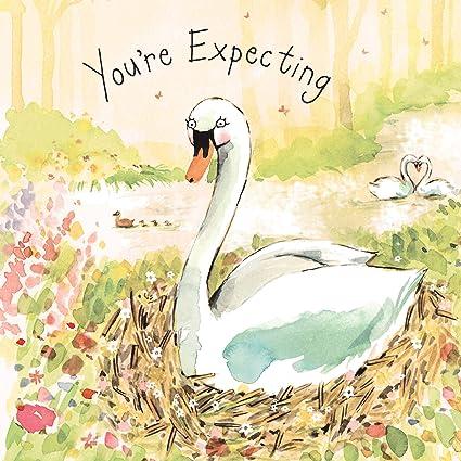 Twizler Youre - Tarjeta de felicitación para recién nacido, con ...