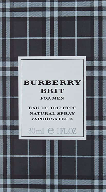 Burberry Brit For Men Vaporizador Agua de Colonia - 30 ml: Amazon.es: Belleza