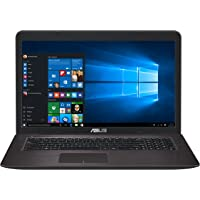 "Asus X756UX-T4188T Portatile, Display 17.3"", Processore Intel Core i7-7500U, RAM 8 GB, HDD da 1 TB, Scheda Grafica nVidia GTX 950M da 2 GB"