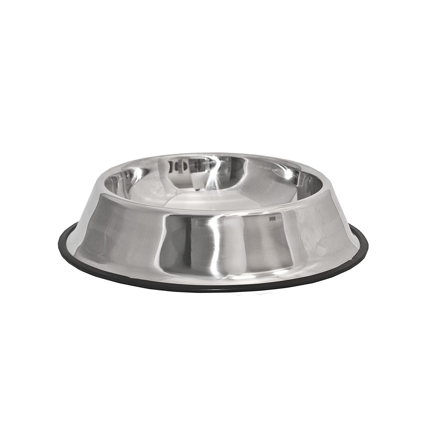 ALEKO PSSB04XL Stainless Steel Pet Dog Cat Puppy Food Bowl XL