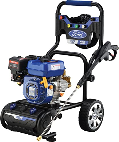 Ford 3,100 PSI Gas-Powered Pressure Washer with Built-in Soap Tank, FPWG3100H-J