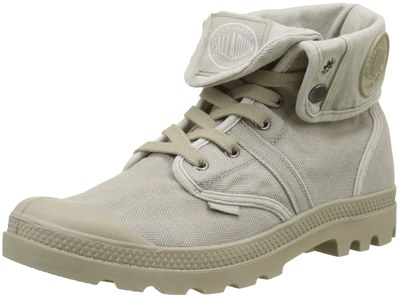 Palladium Sneaker, Herren Pallabrousse Baggy Hohe Sneaker, Palladium grau  Grau (Goat Silver Birch B85) f3ab77 4c37afc405