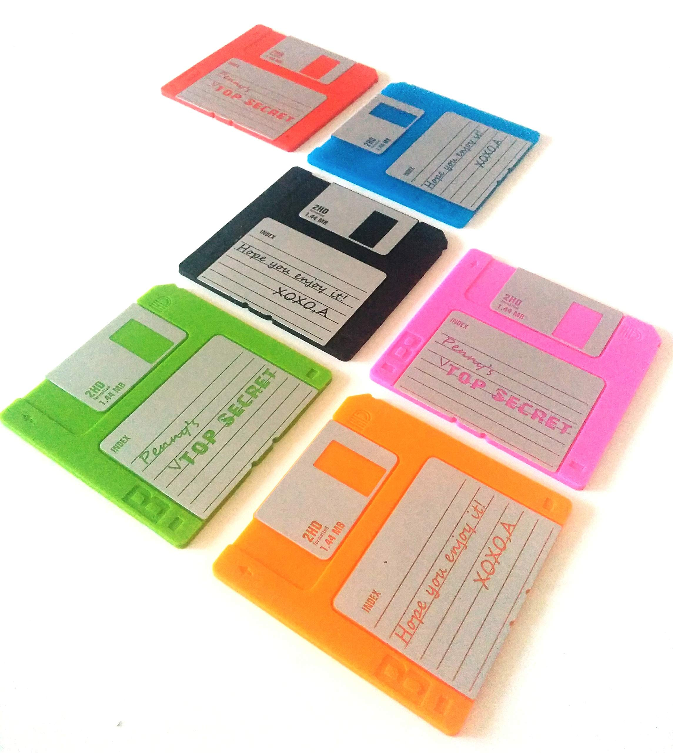 Witty Novelty Floppy Disk Coasters