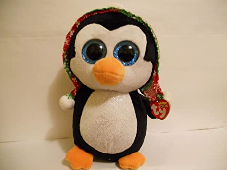 1c52d3db788 Image Unavailable. Image not available for. Color  Claire s Girl s TY Beanie  Boo Penelope the Penguin ...