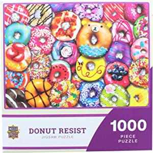 Masterpieces - Donut Resist - 1000 Piece Jigsaw Puzzle