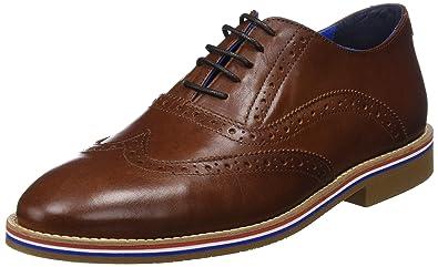 Mens Zapato Piel Oxfords El Ganso 2Gobnr