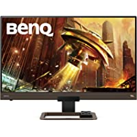 Monitor Gamer BenQ 144 Hz 27 pulgadas 2K QHD ( EX2780Q ) FreeSync, panel IPS, HDRi, USB tipo C, HDMI, DP, 2560x1440, DCI-P3, Bocinas integradas, Control Remoto, Tecnologías Eye Care