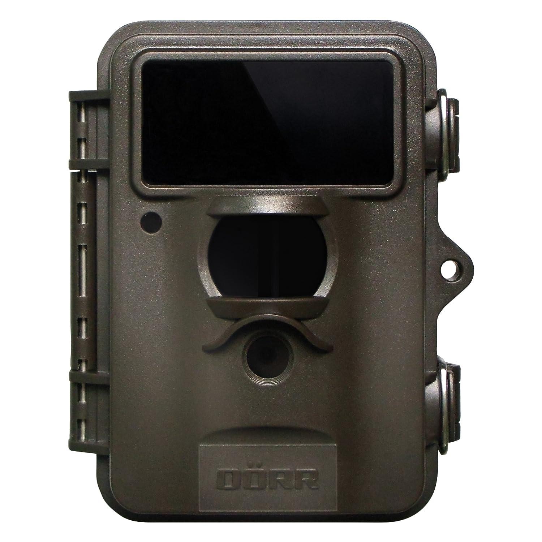 Dörr 204474 - Cámara de vigilancia (Interior y Exterior, Caja, Negro, IP54, 8 MP, 25,4/4 mm (1/4